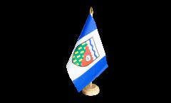 Tischflagge Kanada Nordwestterritorium - 15 x 22 cm