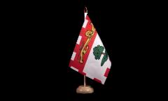 Tischflagge Kanada Prinz Edward Inseln - 15 x 22 cm