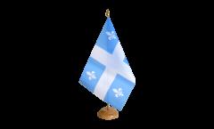 Tischflagge Kanada Quebec - 15 x 22 cm