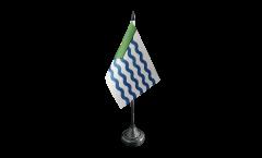 Tischflagge Kanada Stadt Vancouver - 10 x 15 cm