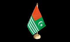 Tischflagge Kaschmir - 15 x 22 cm