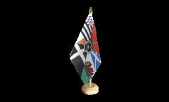 Tischflagge Keltische Nationen Pankeltisch - 15 x 22 cm