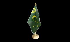 Tischflagge Kokosinseln - 15 x 22 cm