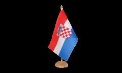 Tischflagge Kroatien - 15 x 22 cm