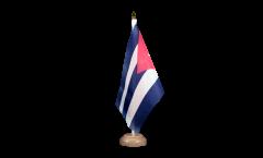 Tischflagge Kuba - 15 x 22 cm