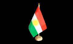 Tischflagge Kurdistan - 15 x 22 cm