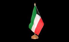 Tischflagge Kuwait - 15 x 22 cm