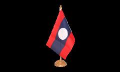 Tischflagge Laos - 15 x 22 cm