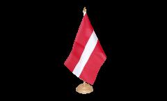 Tischflagge Lettland - 15 x 22 cm