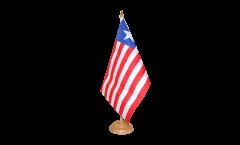 Tischflagge Liberia - 15 x 22 cm