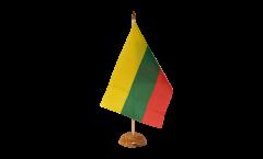 Tischflagge Litauen - 15 x 22 cm