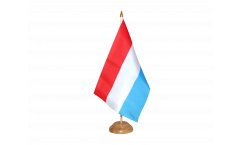 Tischflagge Luxemburg - 15 x 22 cm