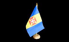 Tischflagge Madeira - 10 x 15 cm