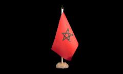 Tischflagge Marokko - 10 x 15 cm