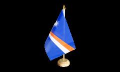 Tischflagge Marshall Inseln - 15 x 22 cm