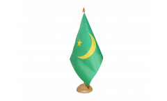 Tischflagge Mauretanien 1959-2017 - 15 x 22 cm
