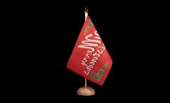 Tischflagge Merry Christmas - 15 x 22 cm