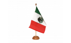 Tischflagge Mexiko - 10 x 15 cm