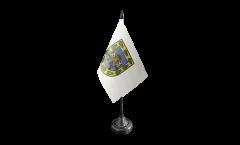 Tischflagge Mexiko Stadt - 10 x 15 cm