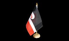 Tischflagge Neuseeland Maori - 15 x 22 cm