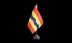 Tischflagge Niederlande Overijssel - 10 x 15 cm