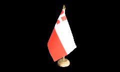 Tischflagge Niederlande Utrecht - 10 x 15 cm