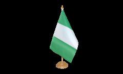 Tischflagge Nigeria - 10 x 15 cm