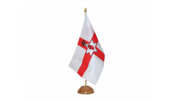 Tischflagge Nordirland - 10 x 15 cm