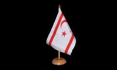 Tischflagge Nordzypern - 15 x 22 cm