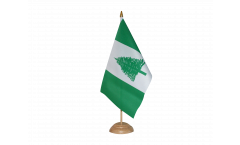 Tischflagge Norfolk Inseln - 15 x 22 cm