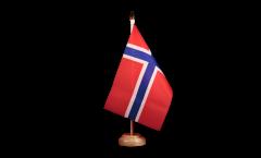 Tischflagge Norwegen - 15 x 22 cm