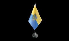 Tischflagge Oberschlesien - 10 x 15 cm