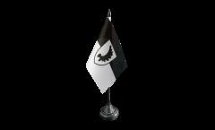Tischflagge Ostpreußen Landsmannschaft - 10 x 15 cm