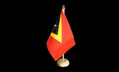 Tischflagge Osttimor - 15 x 22 cm