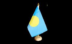 Tischflagge Palau - 15 x 22 cm