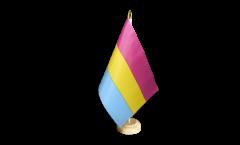 Tischflagge Pansexuell - 15 x 22 cm