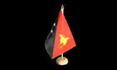 Tischflagge Papua-Neuguinea - 15 x 22 cm