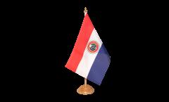 Tischflagge Paraguay - 15 x 22 cm