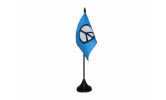 Tischflagge Peace CND - 10 x 15 cm