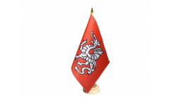 Tischflagge Pendragon - 15 x 22 cm