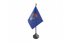 Tischflagge Pionierorganisation Ernst Thälmann DDR - 10 x 15 cm