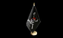 Tischflagge Pirat Surrender the Booty - 15 x 22 cm