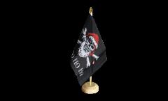 Tischflagge Pirat Yo ho ho - 15 x 22 cm