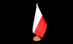 Tischflagge Polen - 15 x 22 cm