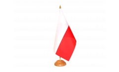 Tischflagge Polen