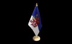 Tischflagge Pommern - 15 x 22 cm