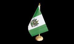 Tischflagge Rhodesien - 15 x 22 cm
