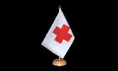 Tischflagge Rotes Kreuz - 15 x 22 cm