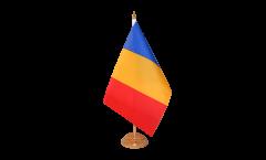Tischflagge Rumänien - 10 x 15 cm