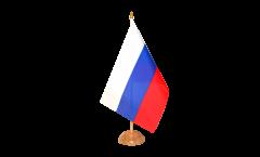 Tischflagge Russland - 15 x 22 cm